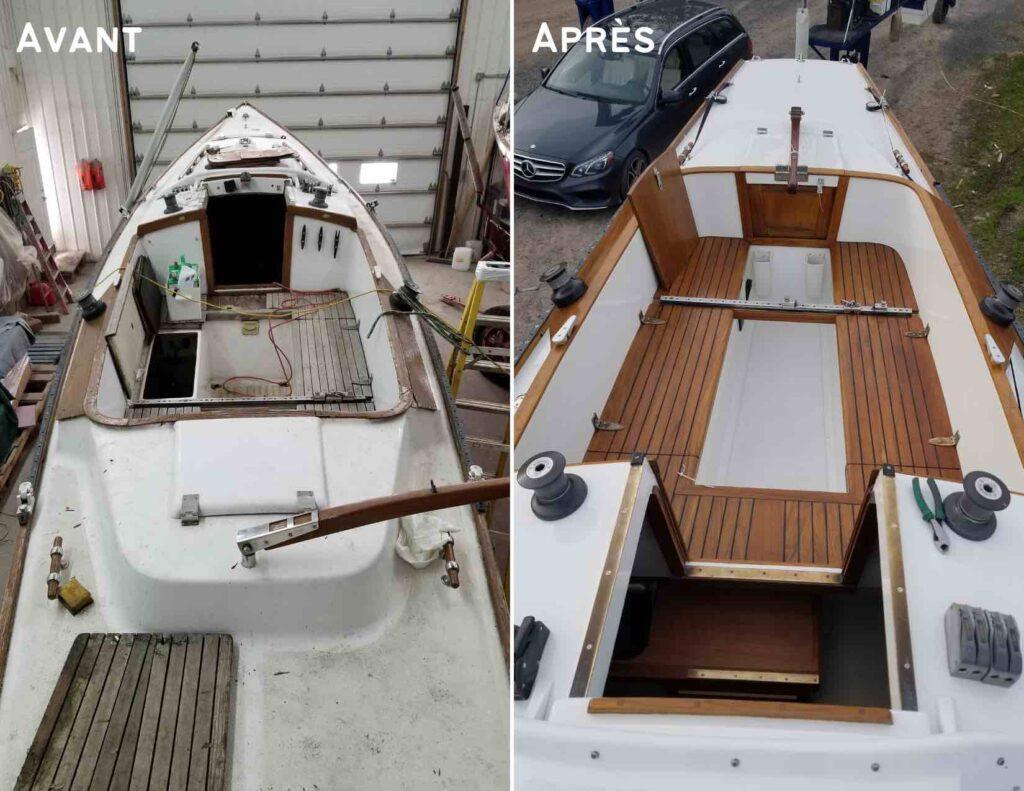bateau voilier lotus blyacht