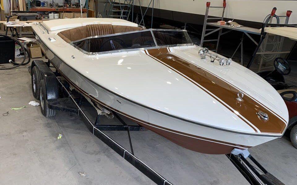 Chris-Craft xk-19 blyacht bateau